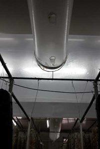 диаметр центрального и боковых воздуховодов для вешенки