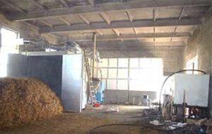 Помещения субстратного цеха в грибном производстве